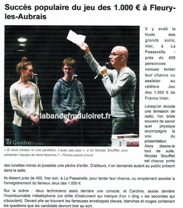 article de presse RC 22 mars 2016