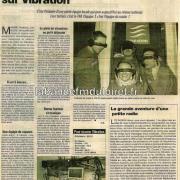 article du Courrier du Loiret, janvier 2005