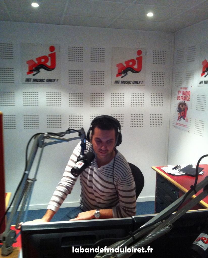 le sympathique journaliste Mickael Vaillant