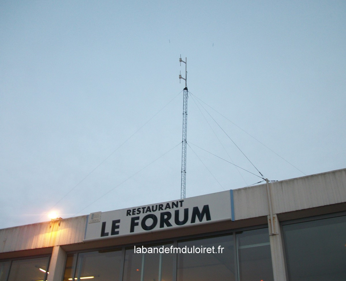 l'antenne de Radio Campus