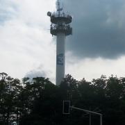 l'antenne France Info sur la tour TDF (France 3) Orléans - La Source