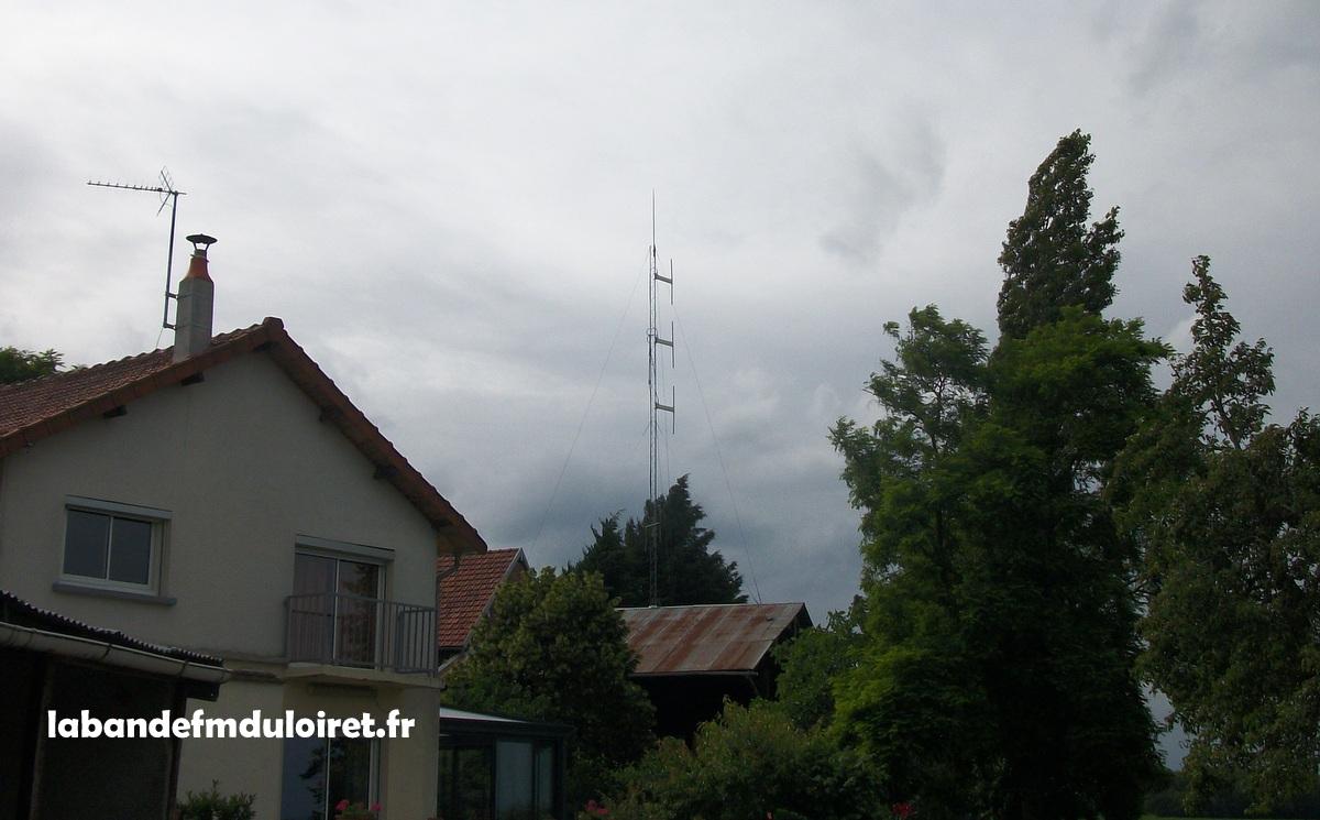 Site Radio Numéro 1 à Beaulieu sur Loire
