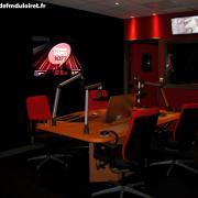 le studio d'Autoroute Info (en Côte d'Or)