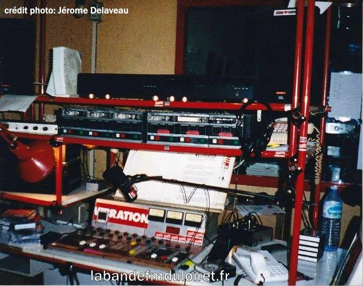 le studio (au sous sol) ,vers 1991.