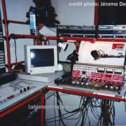 le studio (au sous sol) , vers 1991.