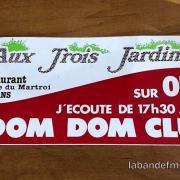 autocollant Dom Dom Club