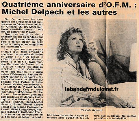 article de presse 1er avril 1986