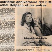 article de presse 1er avril 1986
