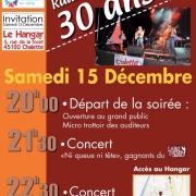 affiche des 30 ans de la radio , décembre 2012