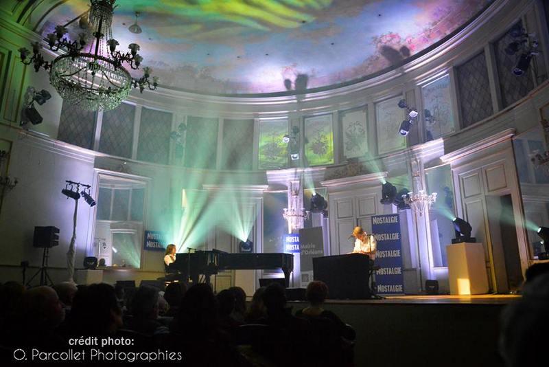 concert privé Nostalgie à Orléans avec Alain Chamfort