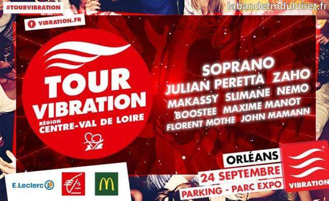 le tour Vibration, septembre 2016