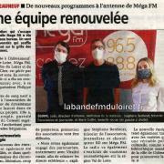 article de presse 4 mars 2021 / La République du centre