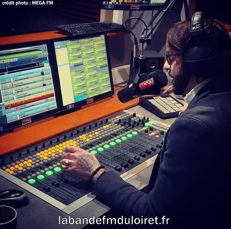 Ludovic au micro (février 2021)