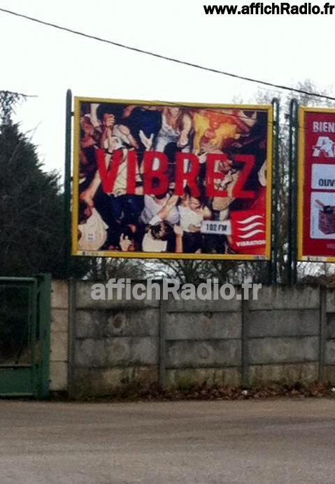 campagne d'affichage, janvier 2014