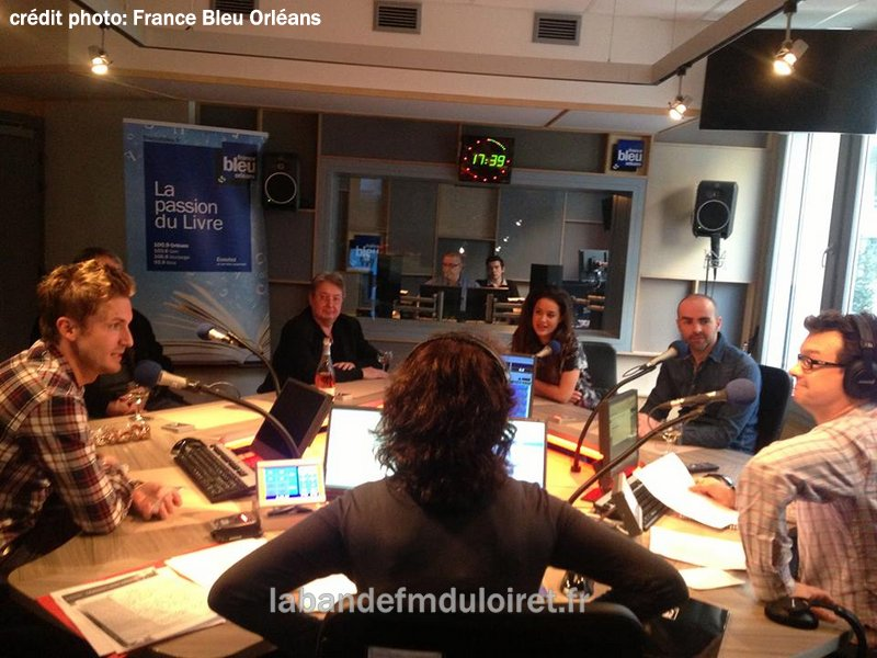 2014. Une émission en direct du grand studio.