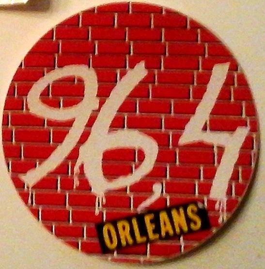 logo (et autocollant) 96.4