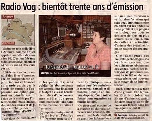 article de presse RC / 2012