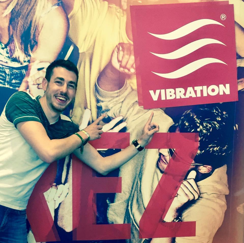 Septembre 2017 , Léo fait sa rentrée sur Vibration!