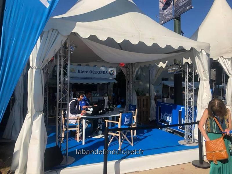 le stand au festival de Loire , septembre 2021