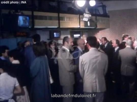inauguration de la radio 9 juin 1980