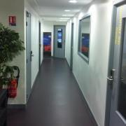 1ere étage des locaux rue de la halle