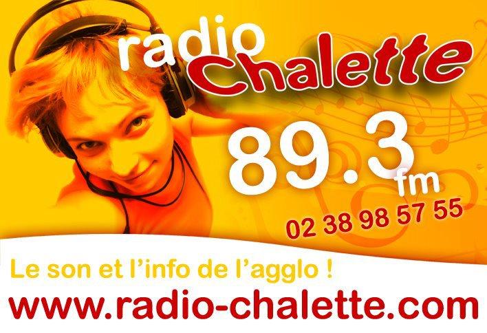 Le dernier logo Radio Châlette (années 2000 à 2013)