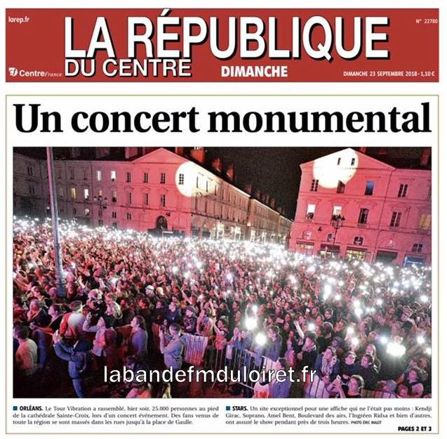 la République du Centre 23 sept .2018