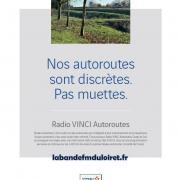 Publicité Radio Vinci Autoroutes 2012