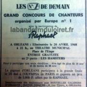 encart paru dans la République du Centre, 1968.