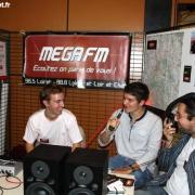 Paul, Maxime et Stéphane lors d'un direct en 2010.