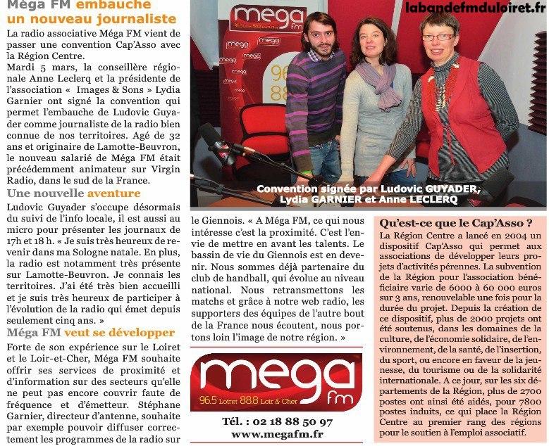 article de presse mars 2013