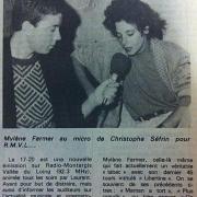 article de presse RC / octobre 1986
