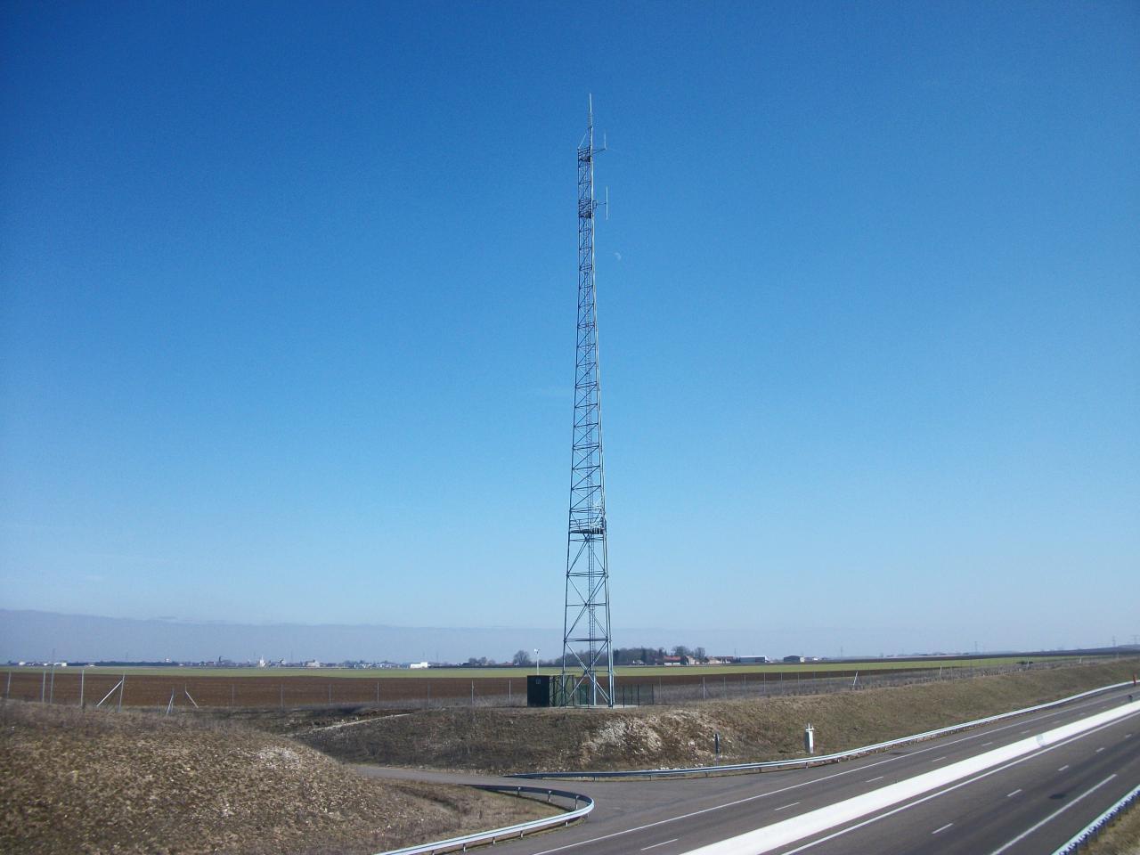 Site Radio Vinci Autoroutes A19 Courcelles