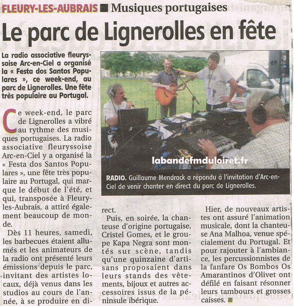 article de presse RC 2 juillet 2012