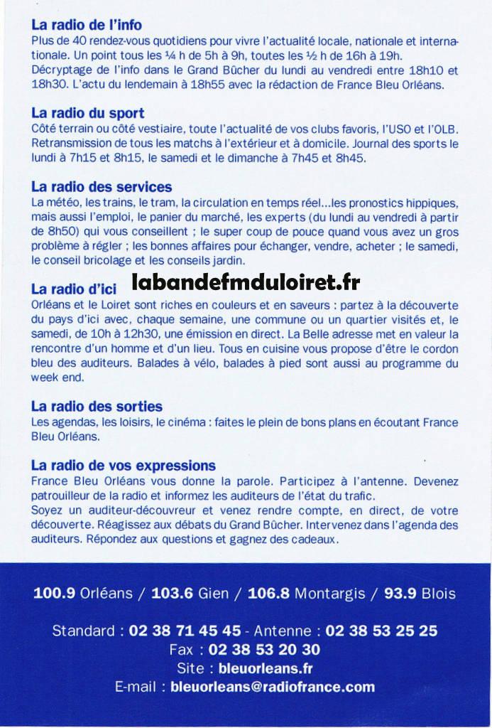 publicité 2011 (verso)