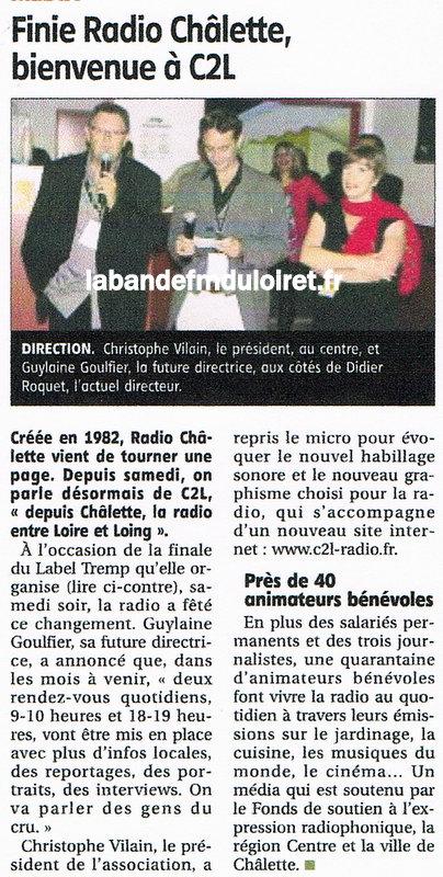 """article de presse """"RC"""" 30 septembre 2013"""