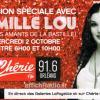 publicité pour la venue de la station en direct d' Orléans!