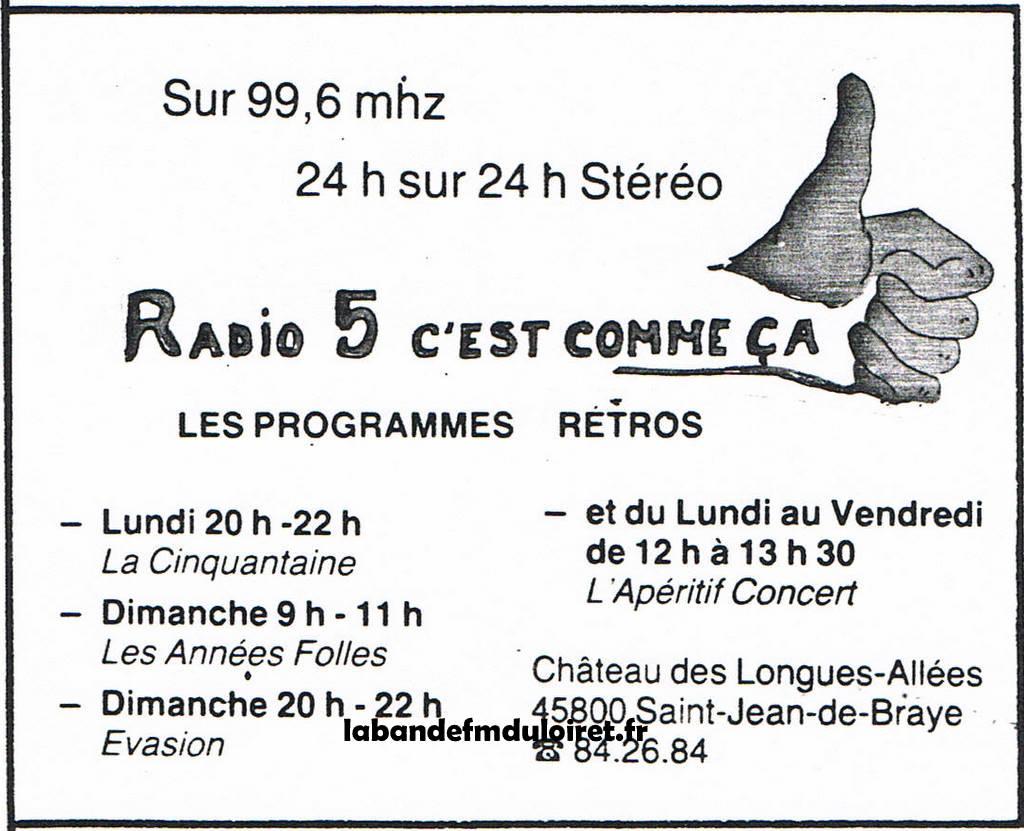 publicité bulletin municipale  sept. 1983