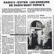 article de presse NR du 1er oct. 1982