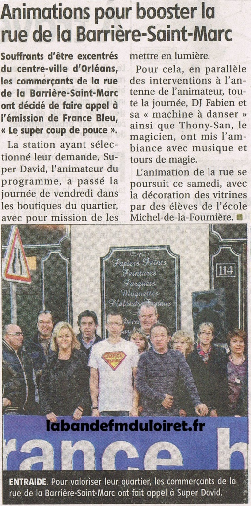 article de presse 5 nov. 2011