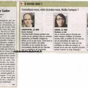 article de presse 3 nov. 2011 (suite)
