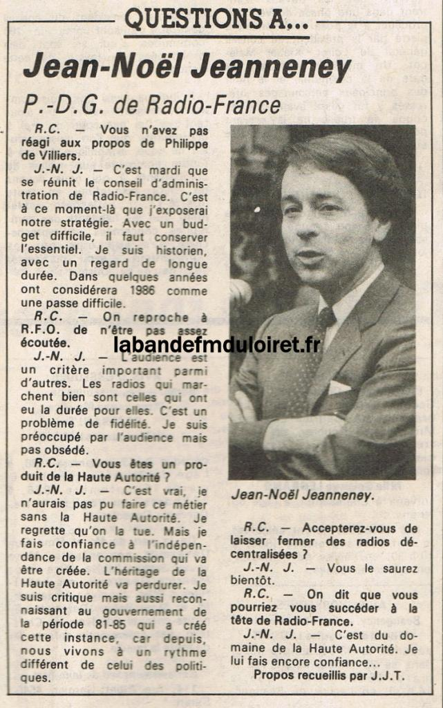 article de presse RC / 15 septembre 1986 (suite)