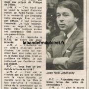 article de presse RC / 15 septembre 1986 (suite)