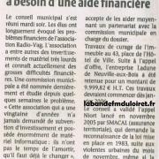 article de presse 23 déc 2005
