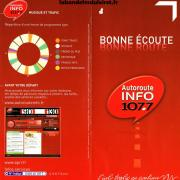 Dépliant Autoroute info 2012