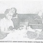 1986, article de presse pour l'émission