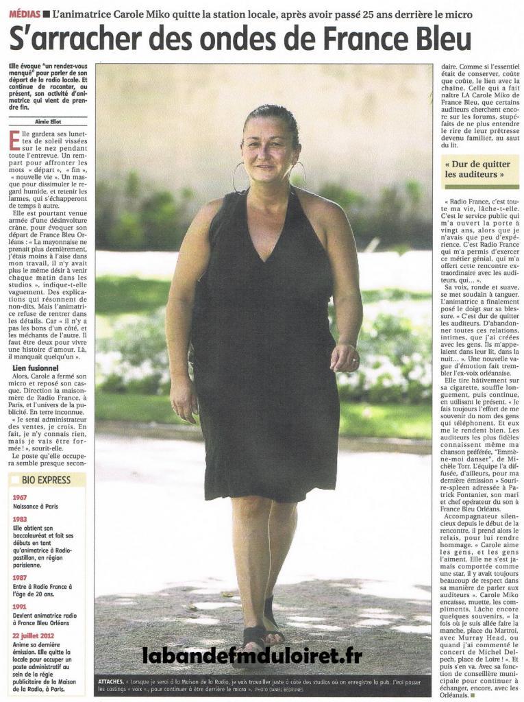 article de presse 14 aôut 2012