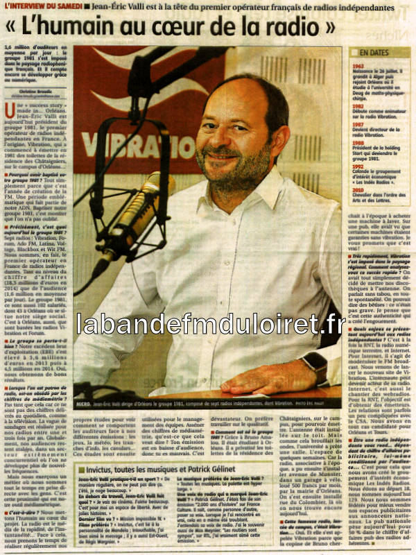article de presse RC 12 septembre 2015