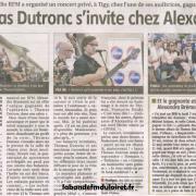 article  de presse 15 juin 2012