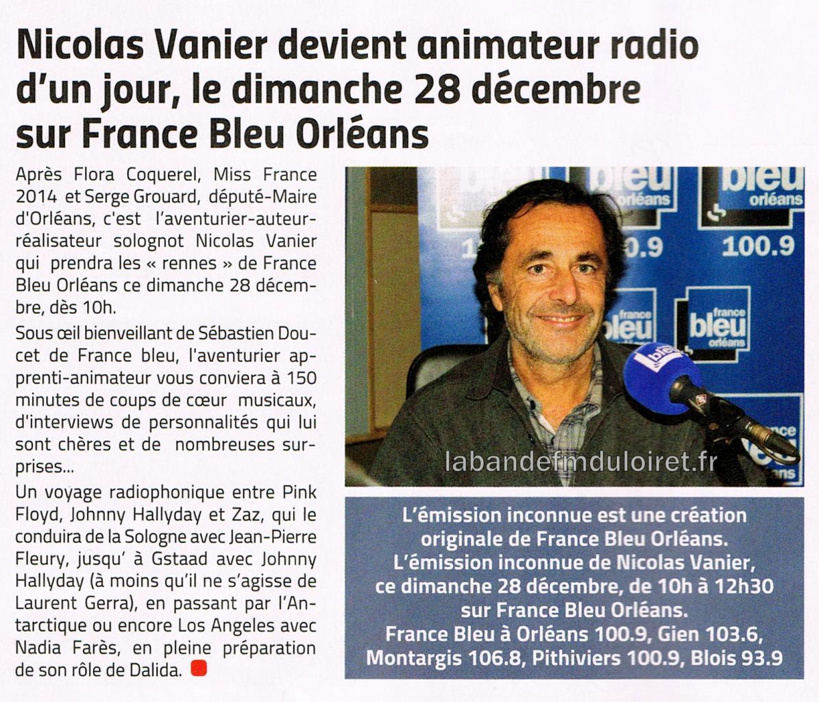 article de presse Décembre 2014
